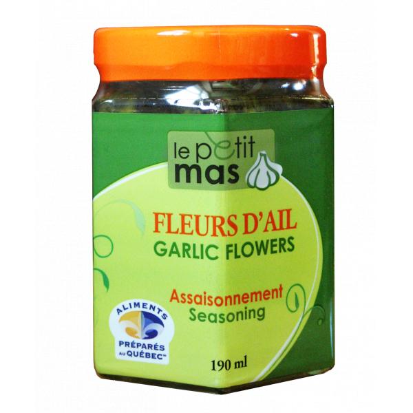 Fleurs D Ail Fermentees Dans L Huile Le Petit Mas Inc Aliments