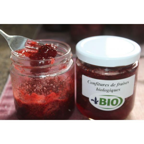 confiture de fraise quebec