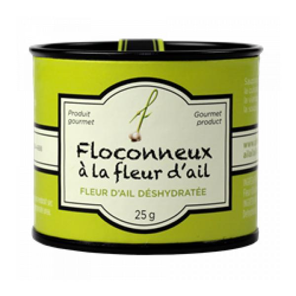 Le Floconneux A La Fleur D Ail A Fleur De Pot Aliments Du Quebec